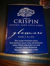 Crispin Hard Cider USA Rugby Sponsor 22 oz Pint Glass Set of four (4) - NEW