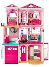 NEW Barbie Dream House 3 Story With Elevator Furniture Accessories FREE SHIPPING