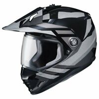 HJC Lander Mens DS-X1 Motorcycle Helmet - MC-5 Large
