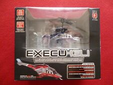 WIRELESS INDOOR HELICOPTER PROPEL RC EXECUHELI BLACK/SILVER NEW!