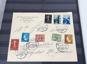 Netherlands very Nice envelop with Nice stamps