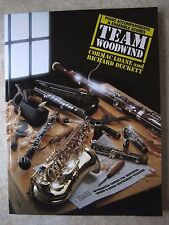 Team Woodwind Piano Accompaniments Book covering all the instruments *NEW*
