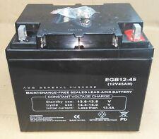 Batteria 45Ah  AGM GENERAL PURPOSE x  UPS , Nautica , Medical , Camper