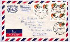 BQ125 1976 Papa New Guinea Boroko Devon Great Britain Cover {samwells} PTS
