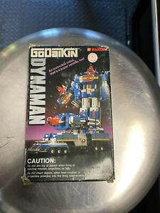 "Bandai Dynaman Godaikin Dyna Robo ST GB-97 With Box! 5 1/2"" Vintage from 1984"