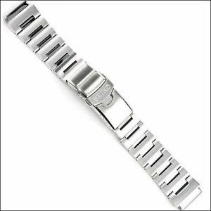 SEIKO 20mm stainless steel solid with diver extension SKZ203, SKZ213 watch strap
