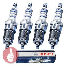 4 x Original BOSCH Zündkerzen 0242235663