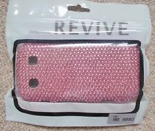 BlackBerry Torch 9860 - Pink Gems design - Hard /Rigid Phone Cover Brand New