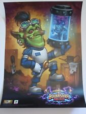 2018 Hearthstone The Boomsday Project Exclusive Poster SDCC Program Premium