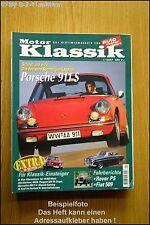 Motor Klassik 1/97 Porsche 911 S Bentley Mk6  Fiat