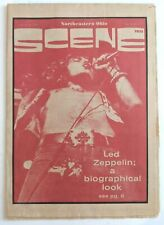 RARE Jan 30-Feb 4 1975 Northeastern Ohio SCENE MAGAZINE, Led Zeppelin Cover!