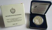San Marino 10000 Lire 1996 Europa Palazzo Publico Silber