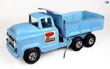 Awesome 1940 Original GMC Vintage Blue Buddy L Construction Co. Dump Truck Toy
