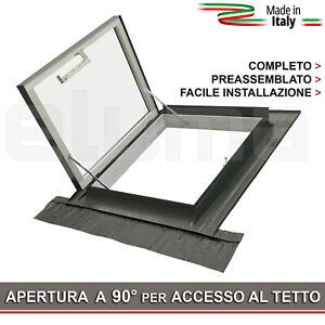 Lucernario Linea Vita - Finestra tetto CLASSIC LIBRO 78x78 - Accesso al tetto