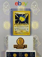 Pikachu 70/111 1st Edition LP/NM Near Mint Neo Genesis Non-Holo Pokemon Card