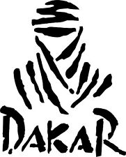 Paris Dakar Vinyl Decal Sticker