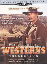 The Spaghetti Western Collection Lee Van Cleef DVD