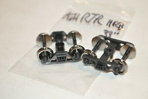 """HO scale PARTS plastic freight car trucks Athearn RTR Roller Bearing 33"""" metal"""