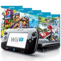 Nintendo Wii U Konsole mit Spiel nach Wahl, u.a. Mario Kart, Zelda o. Smash Bros