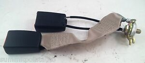 1994-1999 MERCEDES-BENZ S320 S420 S500 W140 ~ RIGHT REAR CENTER SEAT BUCKLE END