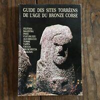 Virili, Grosjean Guida Delle Siti Torréens Di Età Del Bronzo Corse Vigros 1979