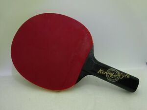 Vintage Butterfly Table Tennis Racket Kenny Style Soft D 13