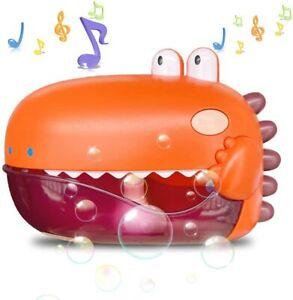 Bath Toys Bubble Bath Maker for Bathtub Toys Blows Bubbles and Plays 12 Songs