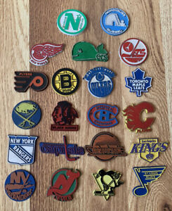 1980s NHL Team Magnets Hockey