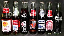 Vintage Collectible Coke Bottles-Full Unopened Lot Of 9