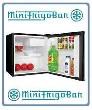 NERO Mini Frigo Bar Silenzioso Piccolo in Classe A+ da Ufficio per Hotel MiniBar