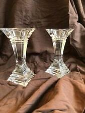 LEAD CRYSTAL CANDLE HOLDERS, 8 inch for pillar candles