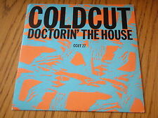 """COLDCUT - DOCTORIN' THE HOUSE     7"""" VINYL PS"""