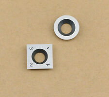8# Carbide Inserts Cutter Set for Wood Turning Working Lathe Tool,Pack of 2