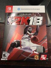 NBA 2K18: Legend Edition SWITCH shaq   100,000  VC   BRAND NEW   NIB