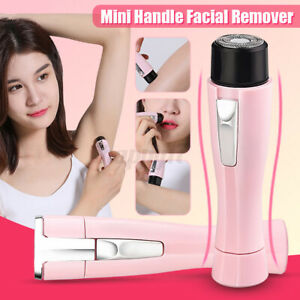Mini Lady Electric Women Facial Shaver Wet & Dry Razor Hair Remover Trimme