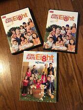 Jon and Kate Plus Eight Ei8ht: Season 3, 4 Volume 2, And 5. Free Shipping