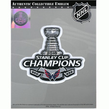 2018 NHL Washington Capitals Champions Stanley Cup Final Jersey Patch