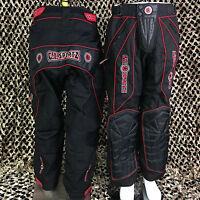 NEW GI Sportz Padded Tournament Paintball Pants - Red/Black - X-Large