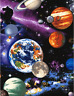 Timeless Treasures Space The Universe Planets 100% cotton fabric by the yard