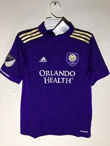 Adidas Youth MLS Jersey Orlando City Team Purple sz S