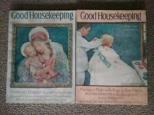 (LOT OF 2) GOOD HOUSEKEEPING MAGAZINES (APRIL 1931 & DECEMBER 1931)