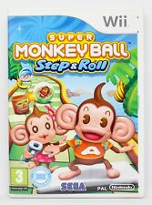 SUPER MONKEY BALL STEP & ROLL - NINTENDO WII - PAL ESPAÑA - AND