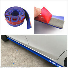 6.5cm*250cm Blue DIY Car Truck Front Bumper Protection Valance Lip Decor Sticker
