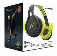 SMS Audio Street by 50 cent Wired On-Ear Sport Headphones - Yellow new sealed