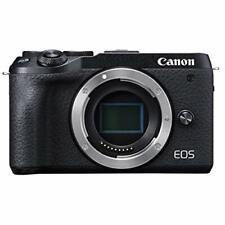 Canon Mirrorless Camera 32.5MP EOS M6 Mark II Black BODY ONLY EOSM6MK2BK-BODY