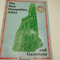 New Hampshire Atlas and Gazetteer ~ Delorme ~ Paperback 1983 Used Good
