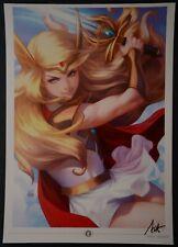 Princess Serenity Stanley Artgerm Lau Signed Art Print
