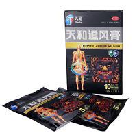 10 Sheets Tianhe Zhuifeng Gao Plaster for Relieve Pain Lumbar & Back Pain