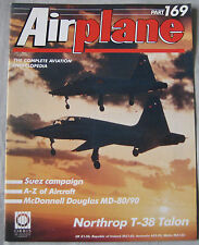 Airplane Issue 169 Northrop T-38 Talon cutaway, McDonnell Douglas MD-80 & MD-90