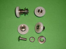 Shower Door Rollers, Wheels, Runners. 4 x SR62